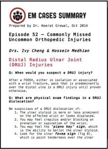 Ch3 DRUJ injuries