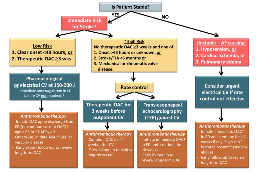 Atrial Fibrillation algorithm