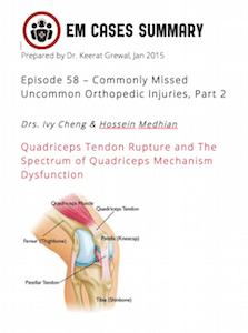 Ch 3 Quadraceps & Gastrocneumius Injuries