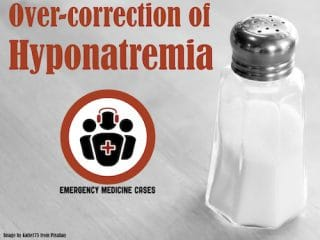 over-correction hyponatremia