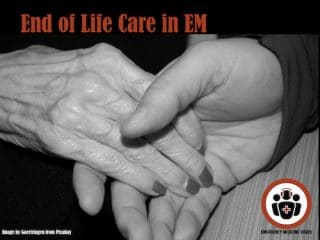end of life care in em