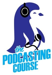 the podcasting course