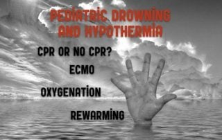 pediatric drowning and hypothermia
