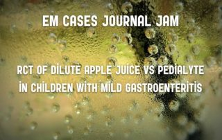 dilute apple juice pediatric gastroenteritis