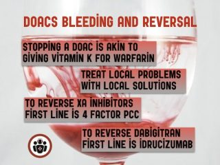 doacs bleeding and reversal agents