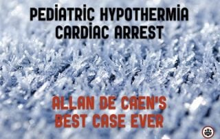 Pediatric Hypothermia Cardiac Arrest