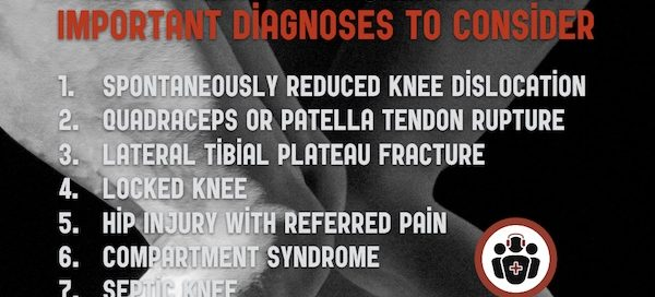 occult knee injuries
