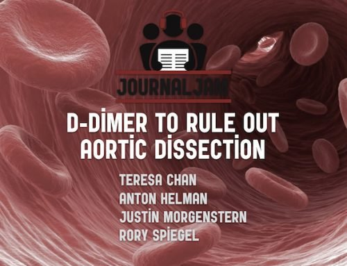 Journal Jam 9 – D-dimer to Rule Out Aortic Dissection