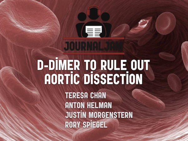 d-dimer to rule out aortic dissection