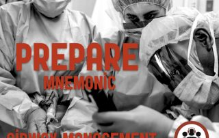 PREPARE mnemonic for Airway Management