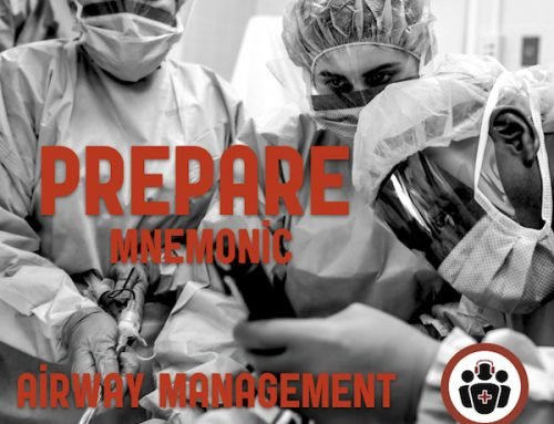 Best Case Ever 57 PREPARE mnemonic for Airway Management