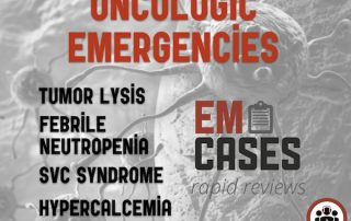 Oncologic Emergencies
