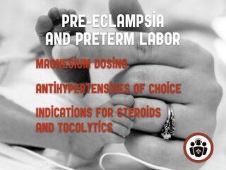 Preeclampsia preterm labor
