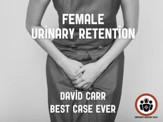 female urinary retention