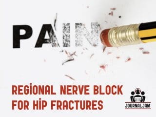 regional nerve block for hip fractures