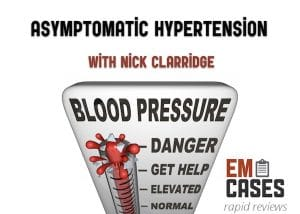 asymptomatic hypertension rapid review video