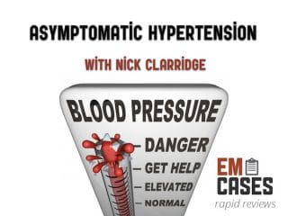 asymptomatic hypertension rapid review video