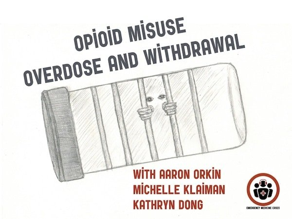 Ep 116 Emergency Management of Opioid Misuse, Overdose and Withdrawal