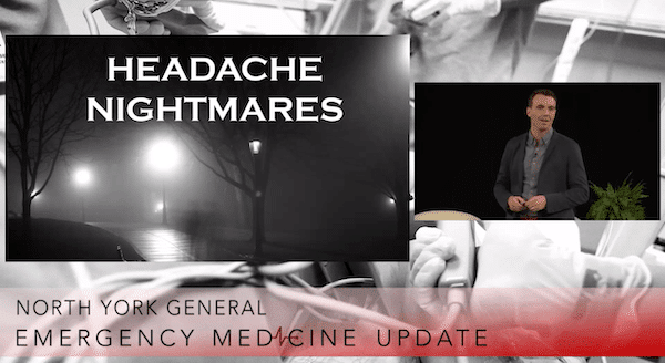 EMU 365: Headache Nightmares
