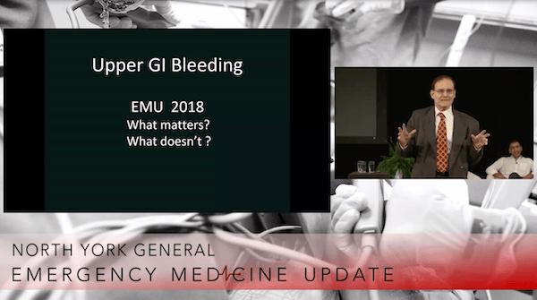 EMU 365: Upper GI Bleed