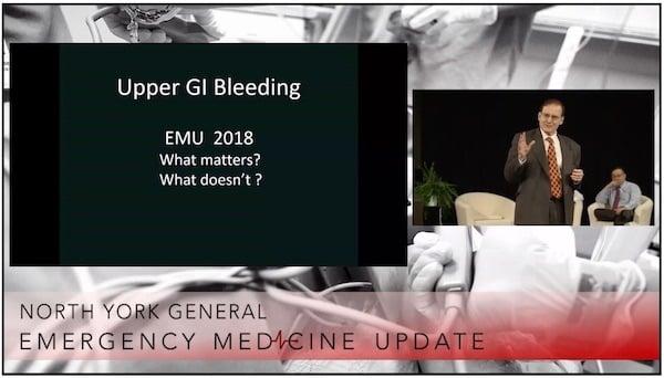 EMU 365 Upper GI Bleed with Walter Himmel