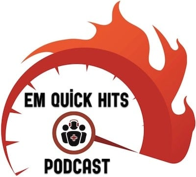EM Quick Hits 1 Massive PE, Gabapentin for Alcohol Withdrawal, Dental Avulsions, Pediatric Eye Exam, Best Resuscitation Fluid