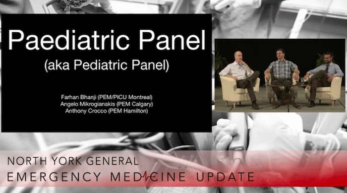 EMU365 Pediatric EM Expert Panel