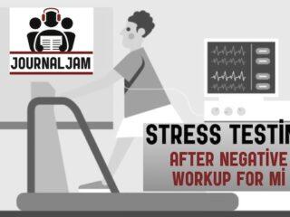 Stress Testing after negative workup for MI