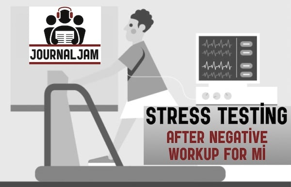 Cardia Stress Testing | Journal Jam Podcast | Emergency Medicine Cases