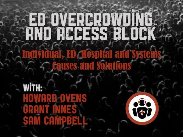 Ep 129 ED Overcrowding and Access Block – Causes and Solutions