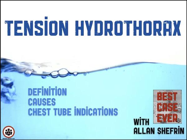 tension hydrothorax