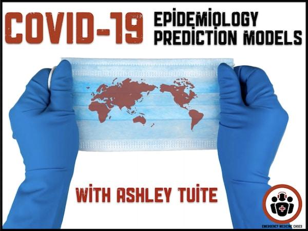 COVID epidemiology EM Cases
