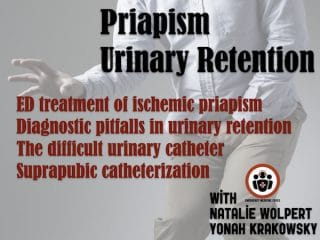 priapism and urinary retention emergency management