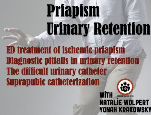 Ep 143 Priapism and Urinary Retention: Nuances in Management