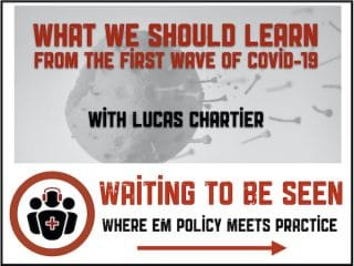 WTBS 24 First Wave of COVID-19 Lessons
