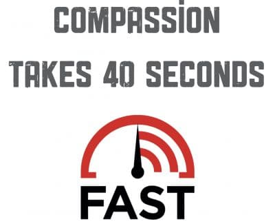 physician compassion takes 40 seconds