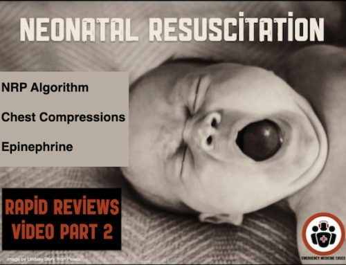 Neonatal Resuscitation Rapid Review Video Part 2 – Chest Compressions, Epinephrine, Algorithm Pearls and Pitfalls