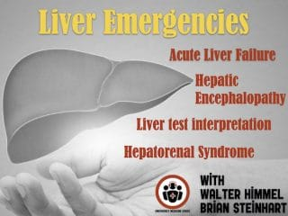 Liver Emergencies - Acute Liver Failure, Hepatic Encephalopathy, Hepatorenal Syndrome, Liver test interpretation, Drugs to Avoid