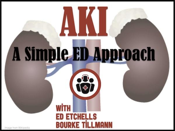 AKI simple ED approach