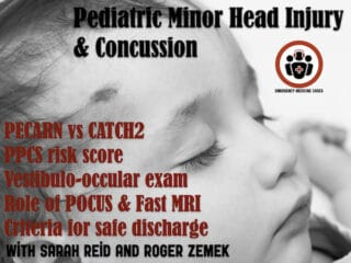pediatric minor head injury and concussion