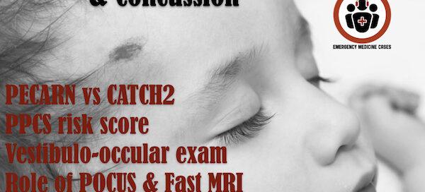 pediatric minor head injury and concussion
