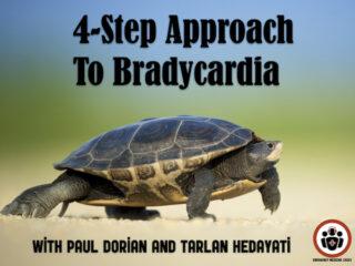 4 step approach to bradycardia